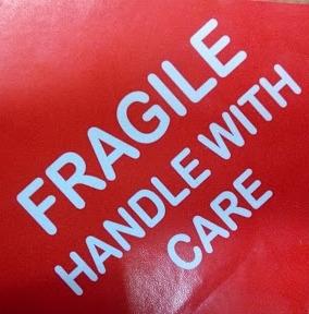 Fragile Sticker