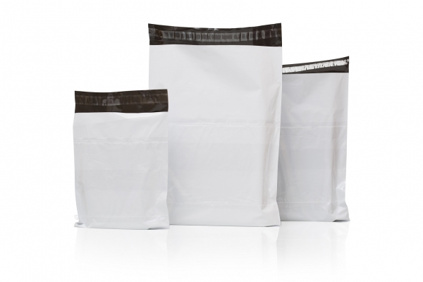 7x10 Plain tamper proof courier bags with POD
